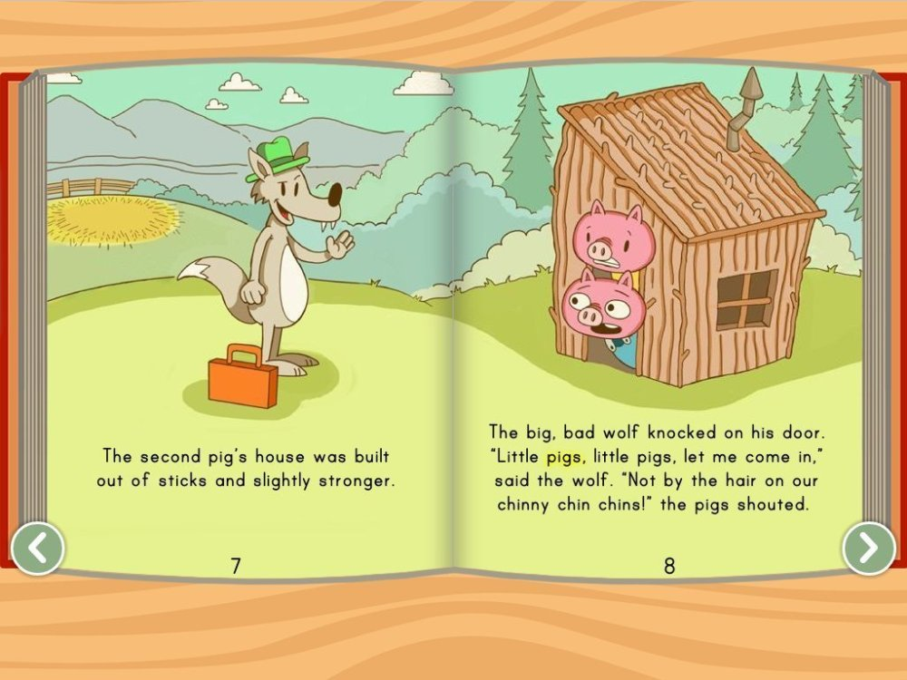 medium resolution of The Three Little Pigs Story   Story   Education.com