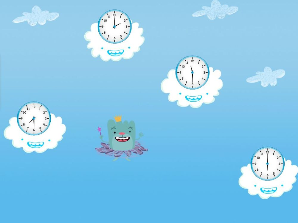 medium resolution of Tell the Time in the Sky Game   Game   Education.com