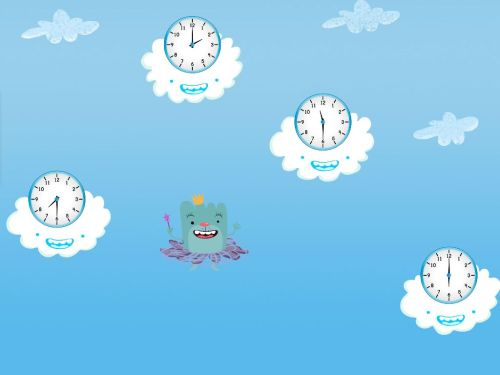 small resolution of Tell the Time in the Sky Game   Game   Education.com