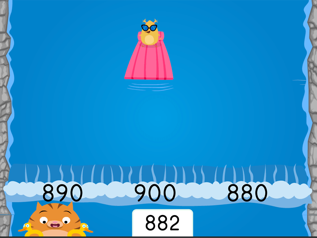 hight resolution of Water Rafting: Rounding Three-Digit Numbers to the Nearest Hundred   Game    Education.com
