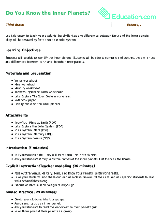 Planet Earth Ice Worlds Worksheet Answers