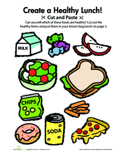 Tell students that today they will be discussing healthy and unhealthy foods also let   eat lesson plan education rh