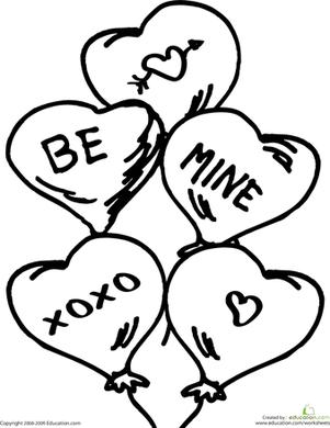 Preschool Valentine's Day Worksheets & Free Printables