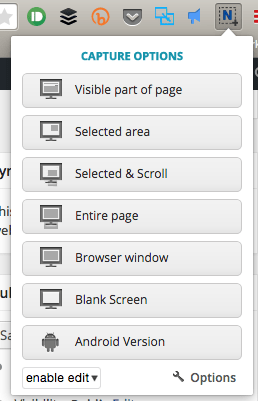 ⓔ A great screenshot extension for Chrome and Firefox - Nimbus