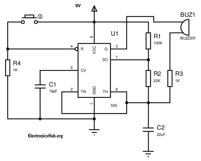 electronics mini projects with circuit diagram 99 f250 fuse box circuits for engineering students eeweb panic alarm