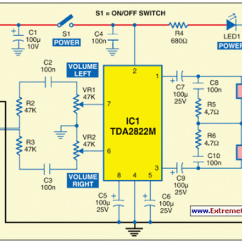Audio Amplifier Circuit Diagram With Layout 8 Ohm Speaker Wiring Diagrams Usb Powered Power Eeweb Community