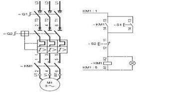 Push On Switch Wiring Diagram Contactor Push Button Start