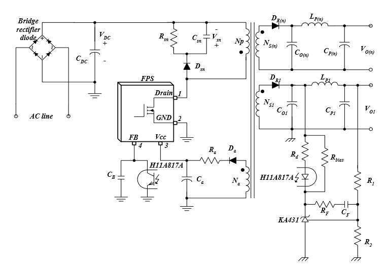 Off-line Flyback Converter Design Guidelines Using FPS