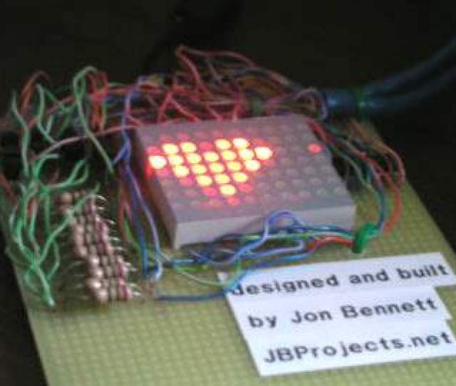Computer Software Controlled Led Matrix Jpg