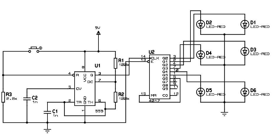 electronics mini projects with circuit diagram grundfos booster pump wiring circuits for engineering students eeweb dice leds jpg