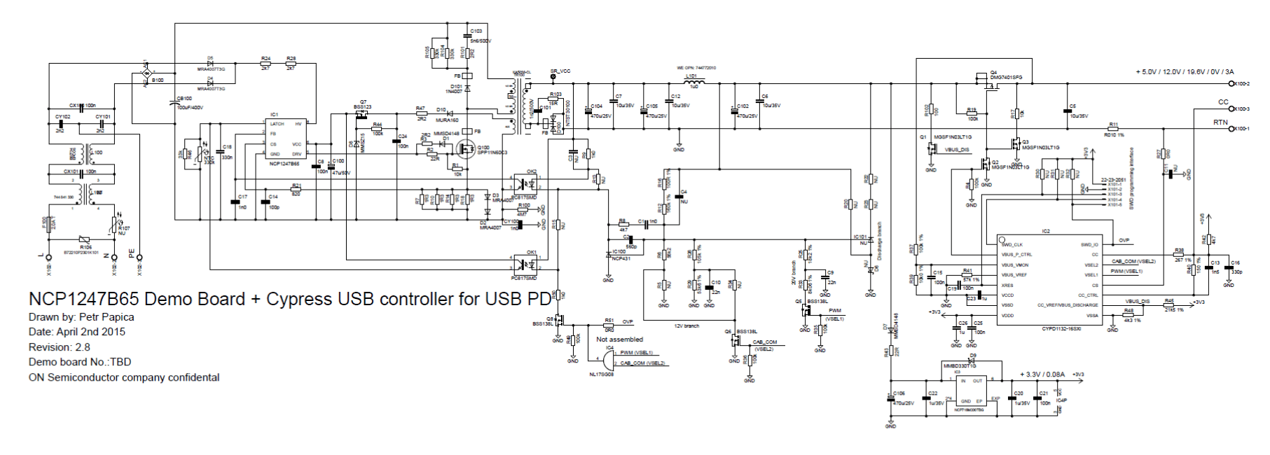 hight resolution of  fixed frequency current mode pwm controller schematic