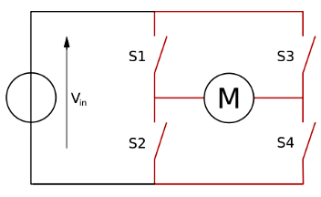 PWM DC Motor Controller Using MOSFETs and IR2110 H-Bridge