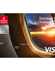 Emirates standard chartered platinum credit card also bank pakistan our partners skywards rh