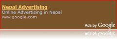 Google starts Advertising in Nepal too