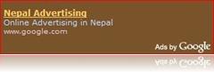Google starts Advertising in Nepal too