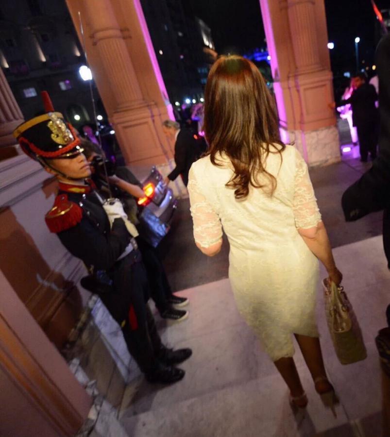 La ltima foto de Cristina Kirchner como Presidenta  ElDocetv