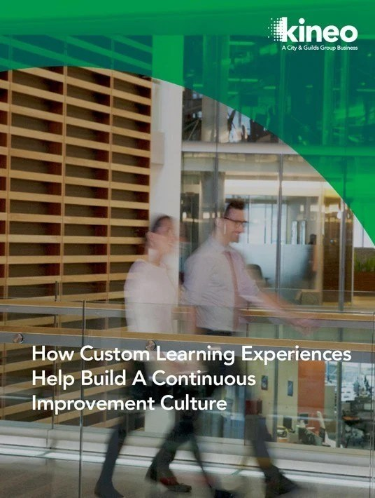 eBook Release: How Custom Learning Experiences Help Build A Continuous Improvement Culture