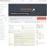 Auction site business plan sample