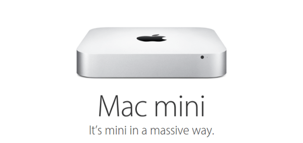 Apple's Mac Mini promotional page