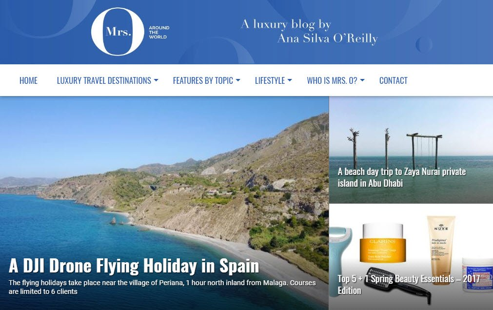 Travel Blogs - Mrs O Around the World