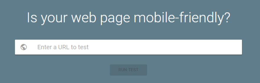 Google's mobile friendly test.
