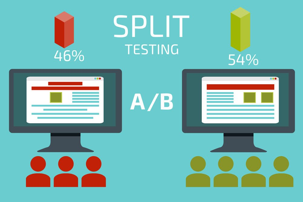 website improvements split test call to action