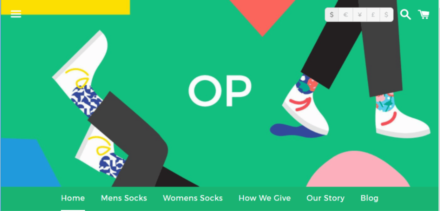 25 Examples of Colorful Websites that Impress