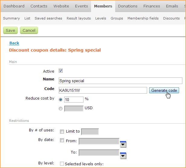 Membership application form - Wild Apricot Help