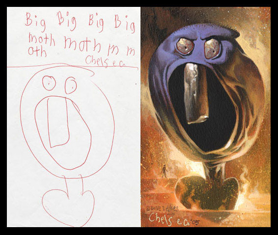 What Children's Drawings Would Look Like If They Were