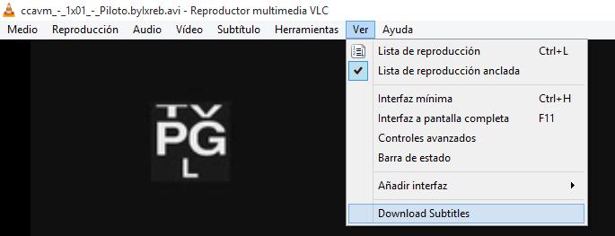 Imagen - Cómo descargar subtítulos con VLC