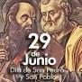 El 29 De Junio Se Conmemora La Solemnidad De San Pablo Y