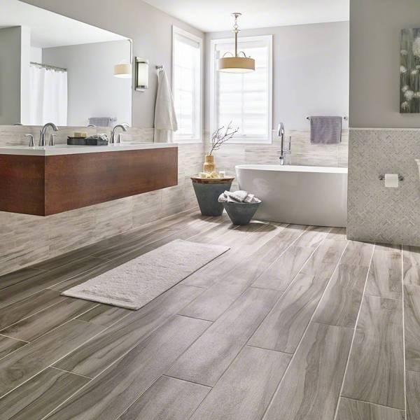 Aspenwood Ash Wood Look Tile  9x48