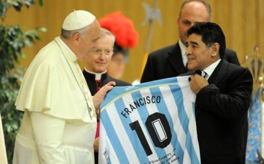 Papa, Maradona