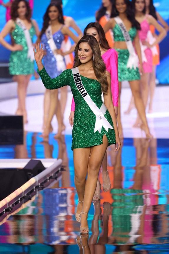 Mariangel Villasmil no clasificó en el grupo de las 21 finalistas del Miss Universo