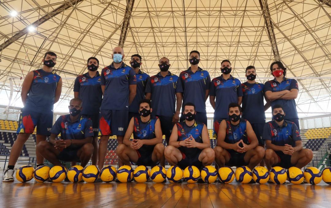 Seleccion de Voleibol Foto Archivo
