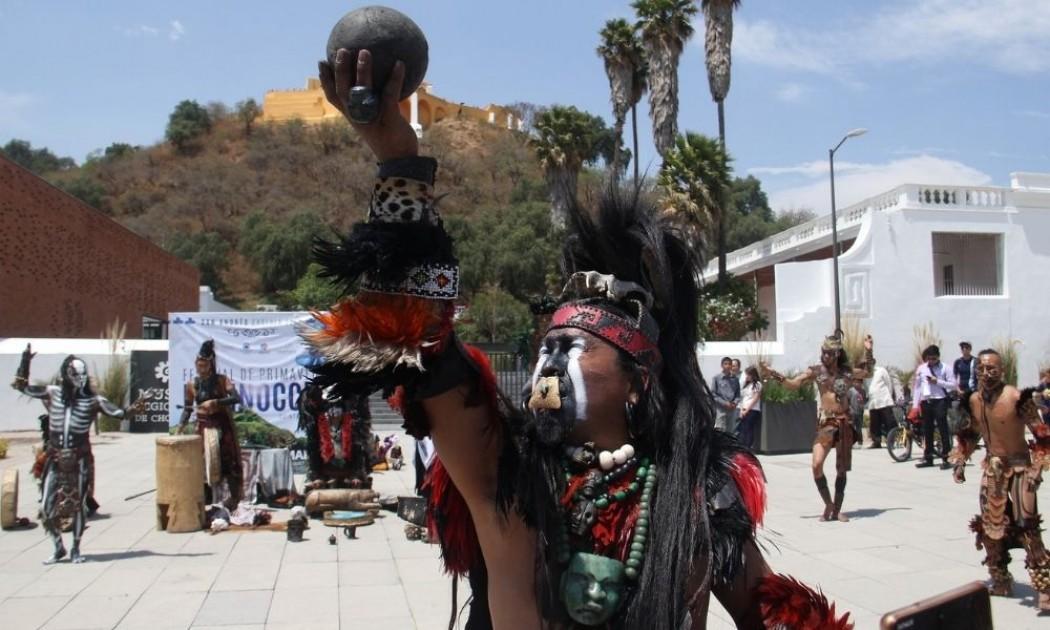 Los rituales prehispánicos con el que le dieron la bienvenida a la primavera. Festival Equinoccio En San Andres Cholula Sera Virtual Por Covid 19