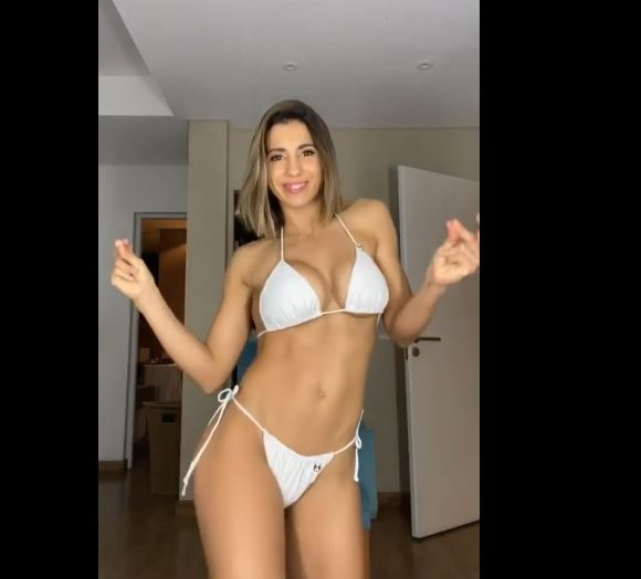 Cinthia Fernández turned on the Instagram stories.