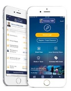 Shake n' Save Money with Mobile App | Emirates NBD