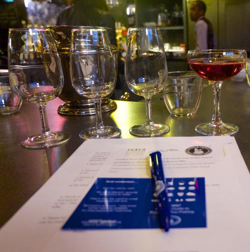 Hixter Bankside Bar Wine Tasting London Emma Inks Blog