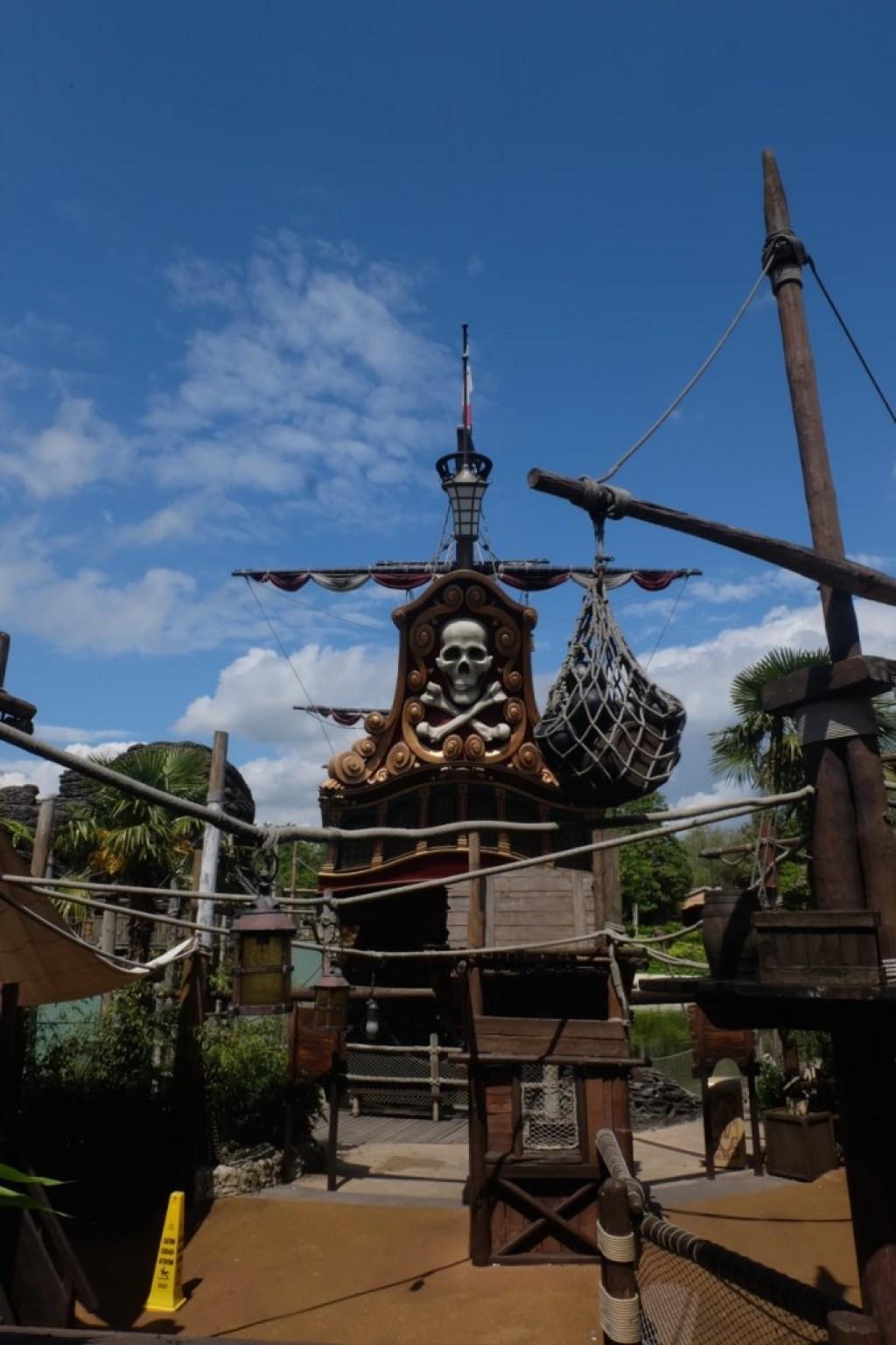 Emma Inks Disneyland Theme Park Paris France Pirate Ship