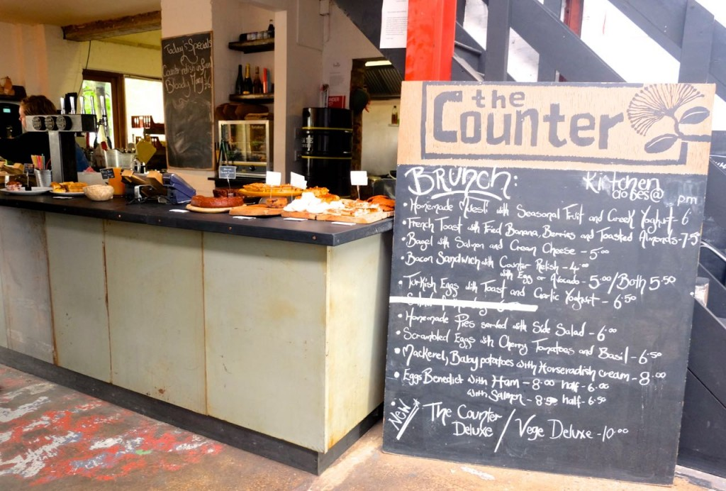 Counter Cafe, Hackney Wick, London, Emma Inks