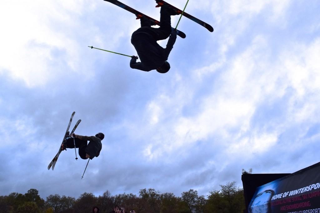 Emma Inks Ski and Snowboard Show With Nikon