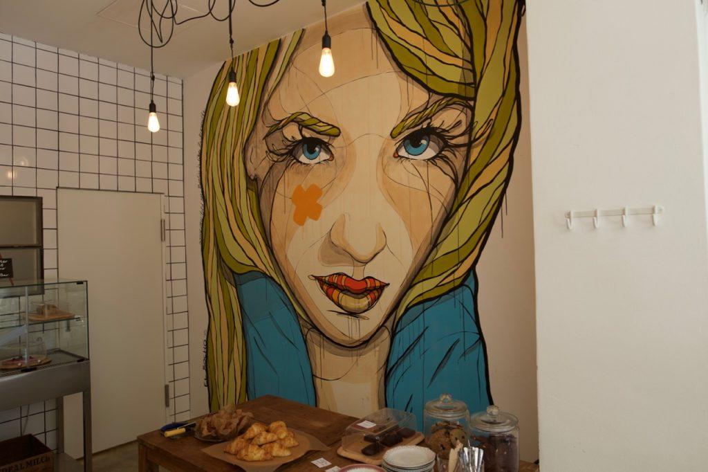 Art at Happy Barista Berlin