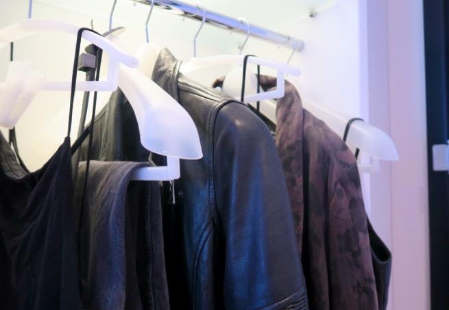 CitizenM Shoreditch wardrobe