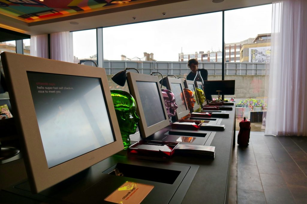 CitizenM Shoreditch Reception