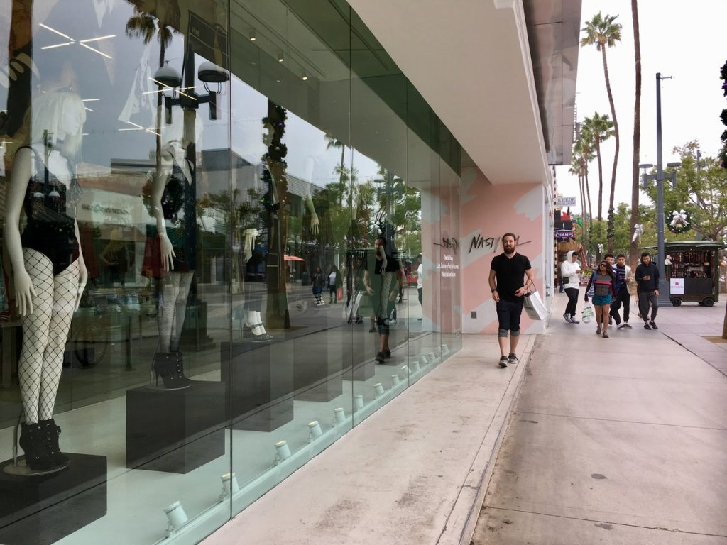 Nasty Gal Store Los Angeles
