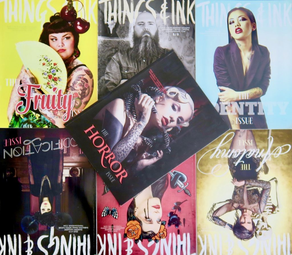 Things and Ink independent tattoo magazine