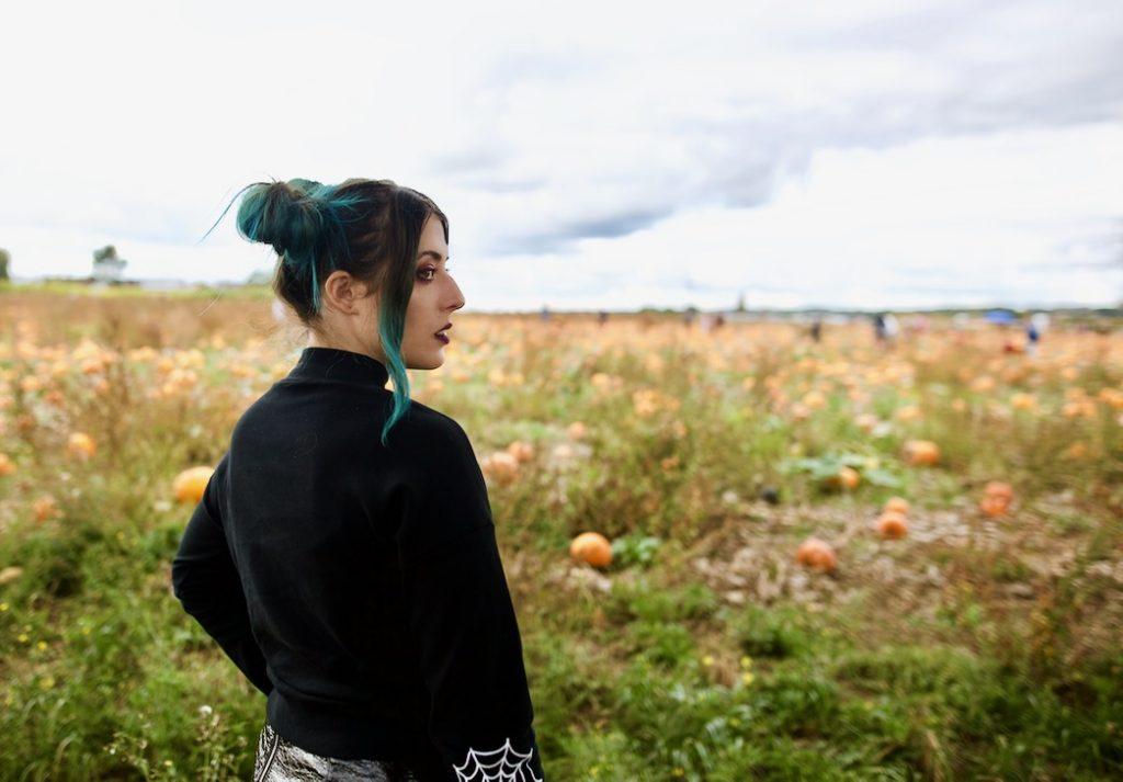 Halloween Pumpkin patch Emma Inks