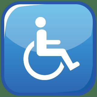 wheelchair emoji plastic folding lawn chairs emojidex custom service and apps new