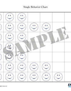 Practicing good behavior single chart for kids also rh empoweringparents